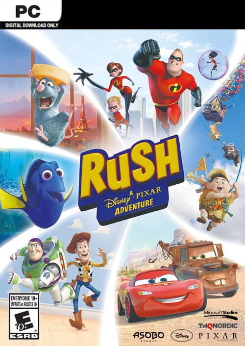 Rush: A Disney €¢ Pixar Adventure