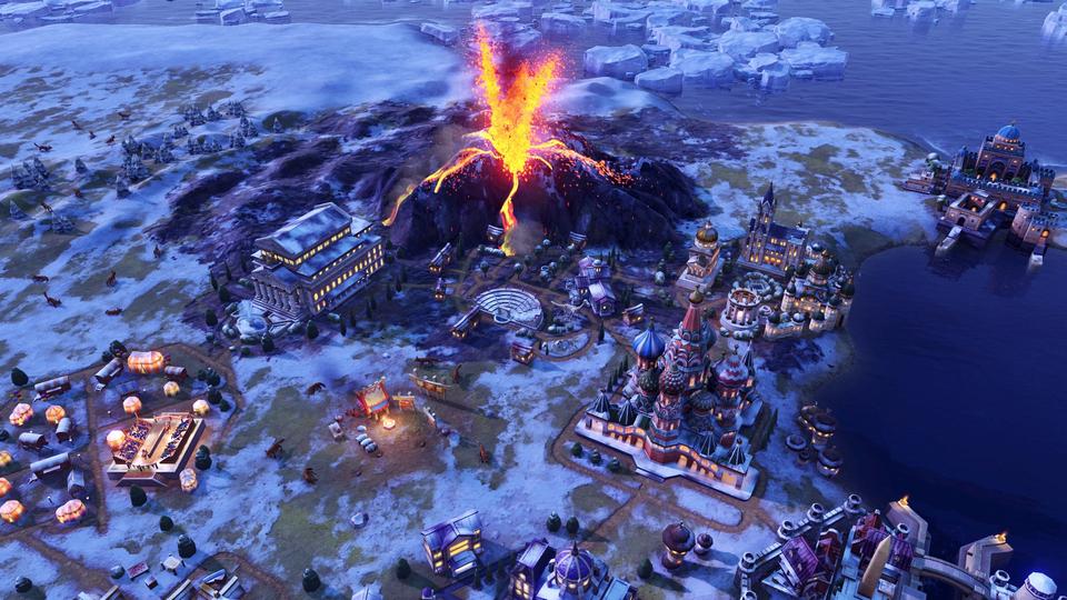 Sid Meiers Civilization VI 6 PC Gathering Storm DLC (EU) cheap key to download