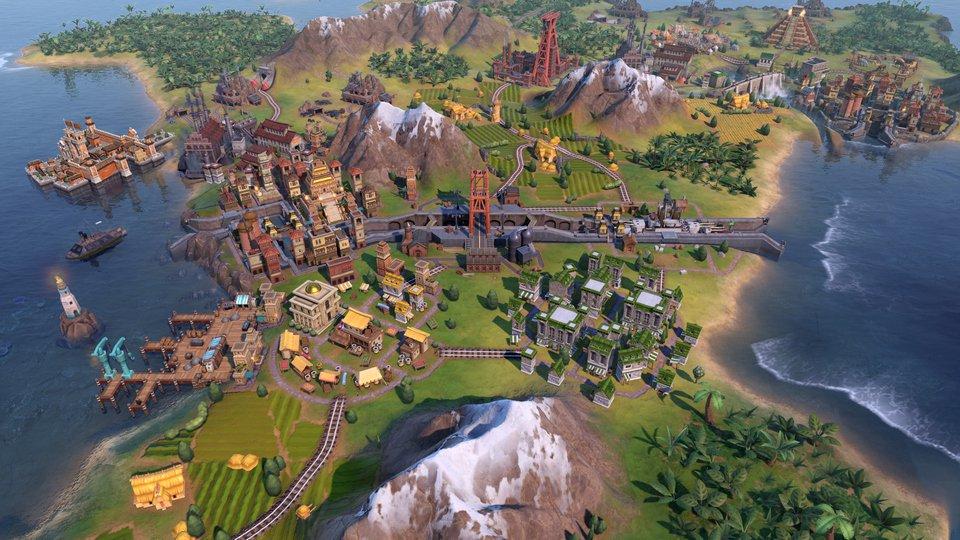 Sid Meiers Civilization VI 6 PC Gathering Storm DLC (Global) clé pas cher à télécharger