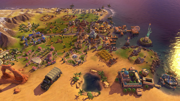 Sid Meier's Civilization VI 6 PC - Rise and Fall DLC (EU) cheap key to download