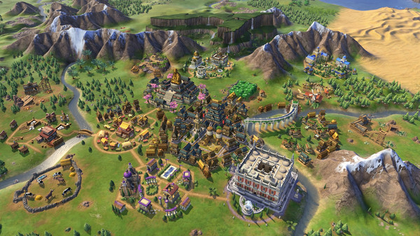 Sid Meier's Civilization VI 6 PC - Rise and Fall DLC (EU) billig Schlüssel zum Download