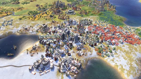 Sid Meier's Civilization VI 6 PC - Rise and Fall DLC (EU) cheap key to download