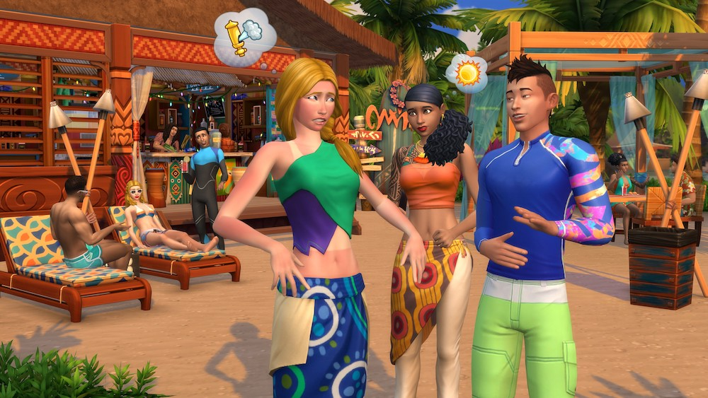 The Sims 4 - Island Living Expansion Pack PC cheap key to download
