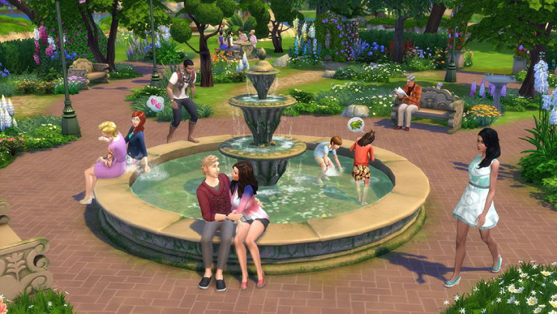The Sims 4 - Romantic Garden Stuff Xbox One billig Schlüssel zum Download
