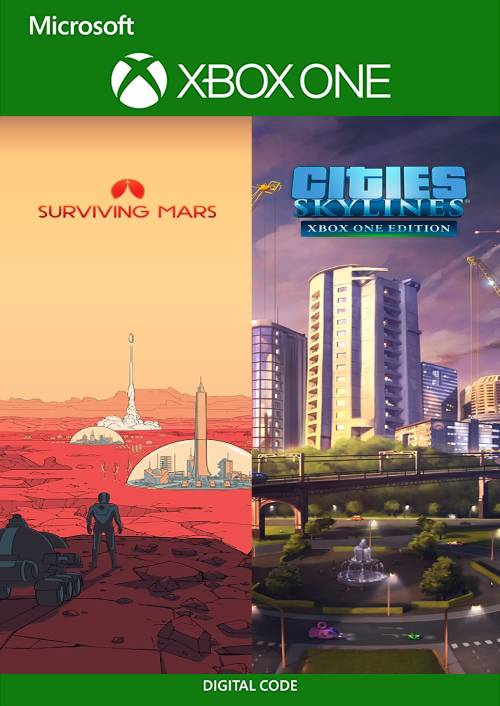 Cities Skylines u. Surviving Mars Xbox One