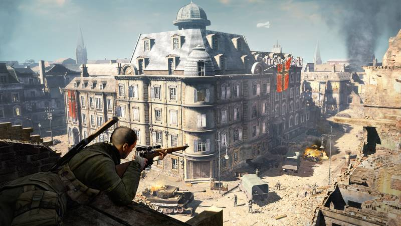 Sniper Elite V2 Remastered PC cheap key to download