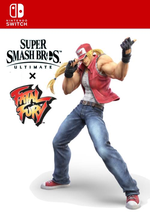 Super Smash Bros Ultimate Challenger Pack 4 Terry Bogard Nintendo Switch