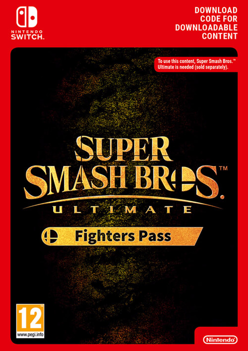 Super Smash Bros Ultimate Fighter Pass Nintendo Switch