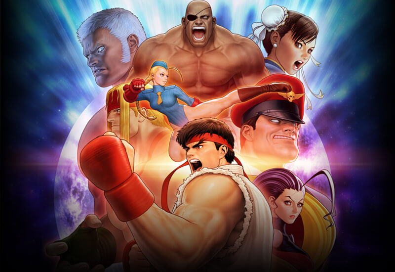 Street Fighter 30th Anniversary Collection Xbox One cheap key to download
