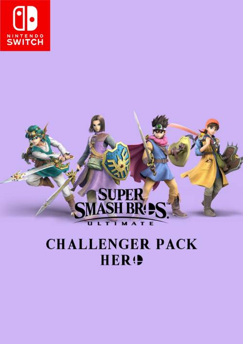Super Smash Bros Ultimate Challenger Pack 2 Hero Nintendo Switch