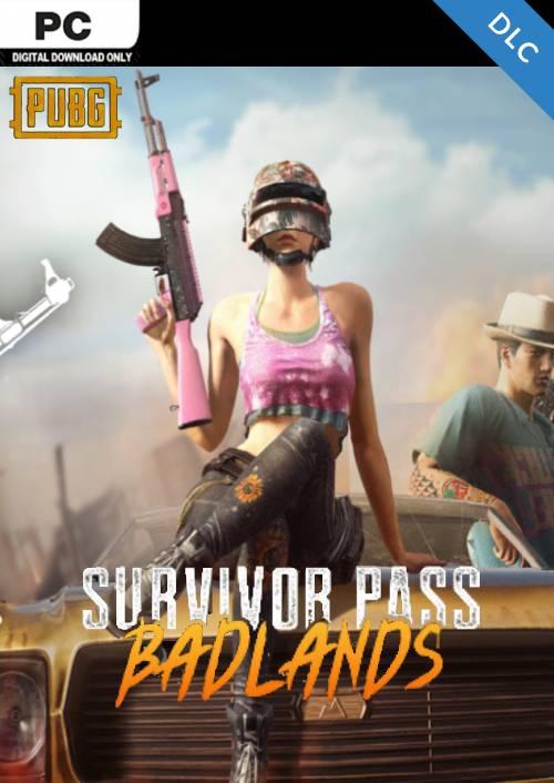 PlayerUnknowns Battlegrounds (PUBG) PC Survivor Pass 5: Badlands DLC key