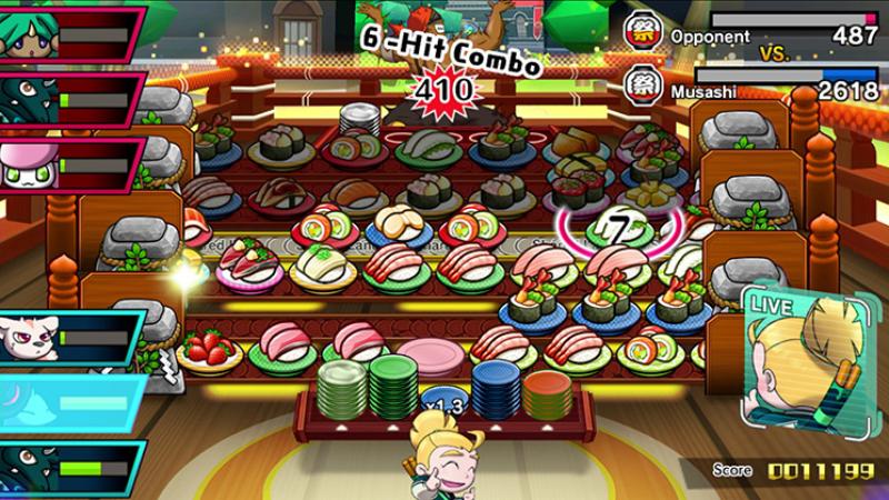 Sushi Striker: The Way of Sushido Switch billig Schlüssel zum Download