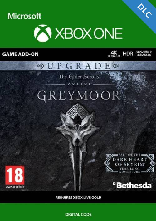 The Elder Scrolls Online: Greymoor Upgrade Xbox One cheap key to download