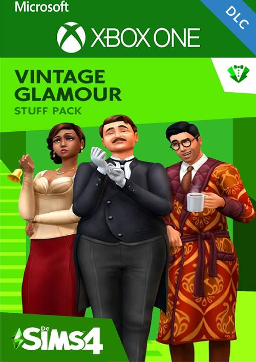 Die Sims 4 Vintage Glamour Accessoires Xbox One