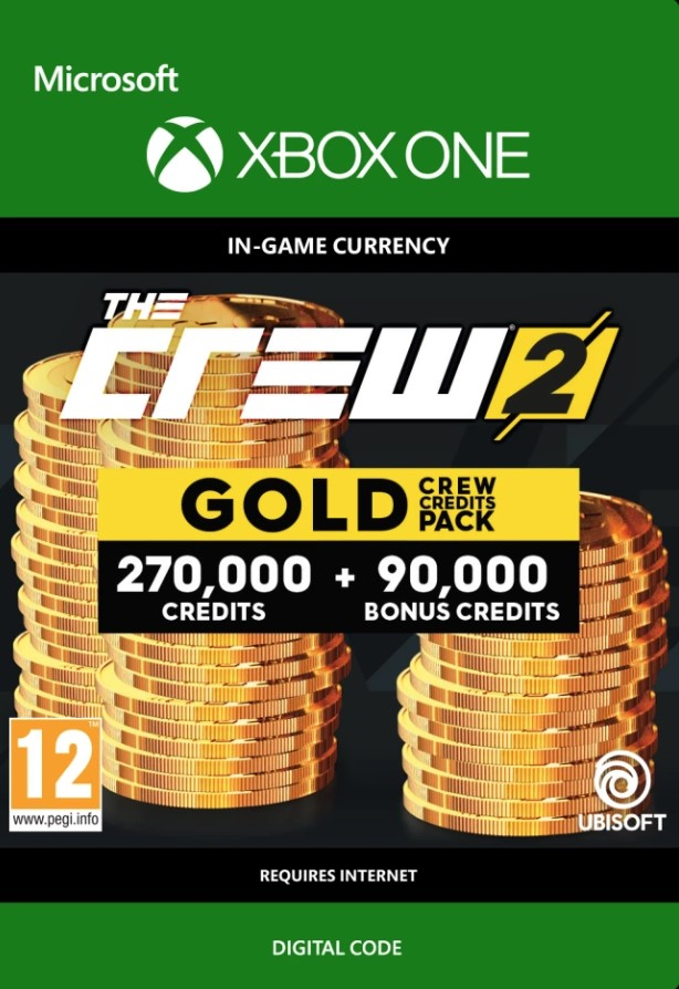 The Crew 2 Gold Credits Pack Xbox One