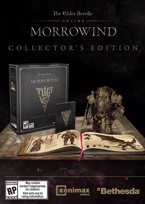 The Elder Scrolls Online - Morrowind Collectors Edition PC