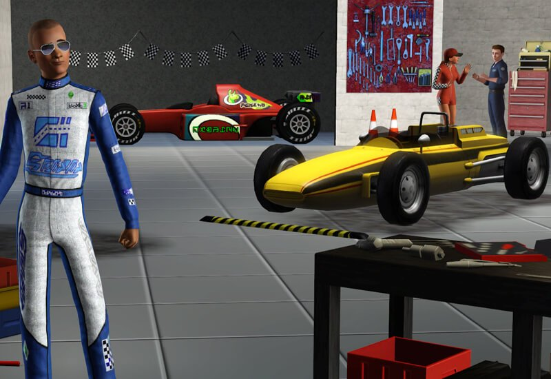 The Sims 3: Fast Lane Stuff (PC/Mac) cheap key to download