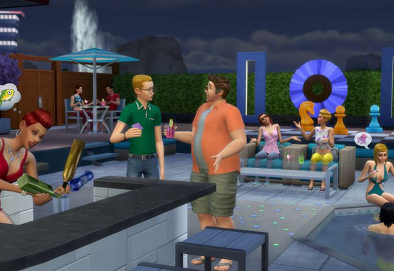 The Sims 4 Perfect Patio PS4 cheap key to download