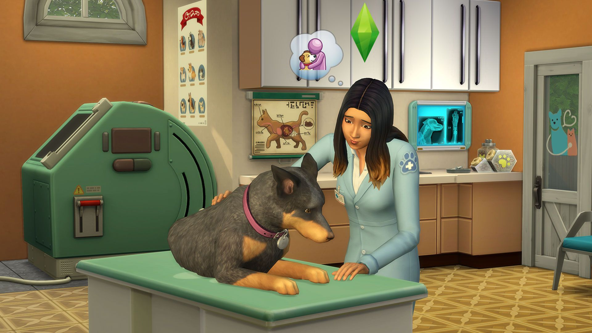 The Sims 4 - Cats and Dogs Expansion Pack PC/Mac cheap key to download