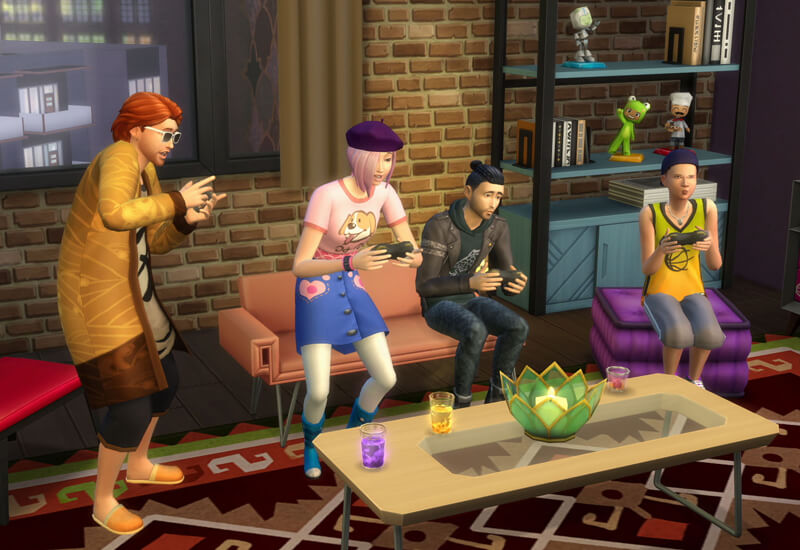 The Sims 4 - City Living Expansion Pack PS4 cheap key to download