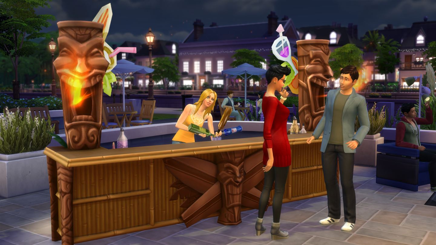 The Sims 4 - Deluxe Party Edition Xbox One cheap key to download