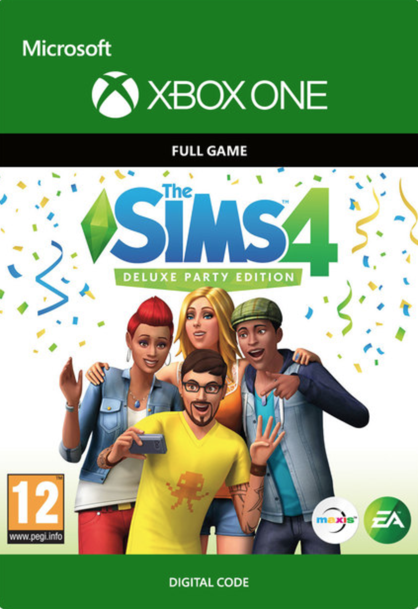 Die Sims 4 Deluxe Party Edition Xbox One
