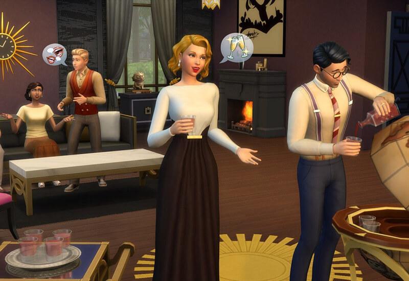 The Sims 4 - Vintage Glamour Stuff Xbox One billig Schlüssel zum Download