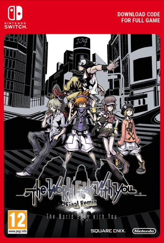 The World Ends With You: Final Remix! Switch key