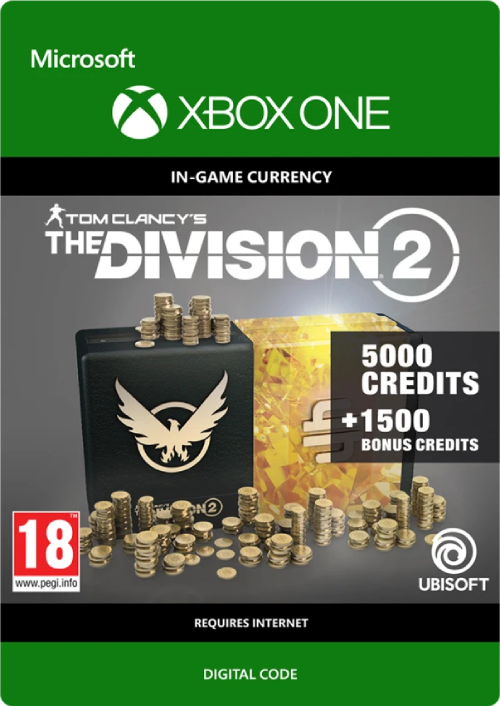 The Division 2 6500 Credits Xbox One