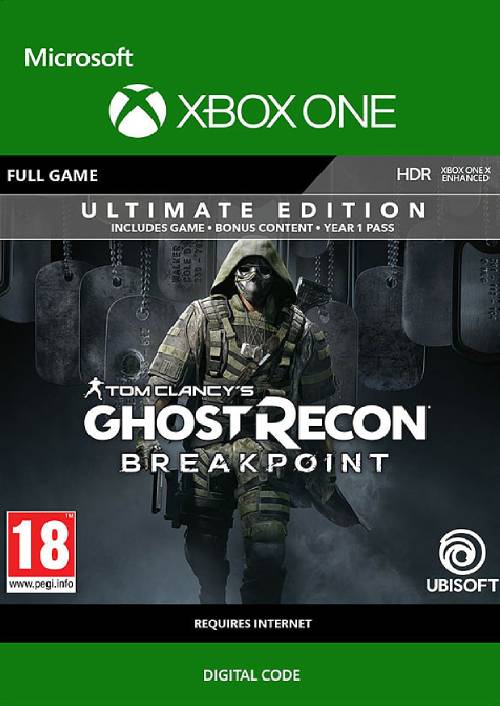 Tom Clancy's Ghost Recon Breakpoint: Ultimate Edition Xbox One key