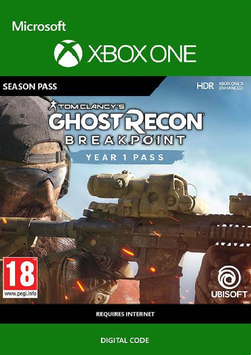 Tom Clancy's Ghost Recon Breakpoint: Year 1 Pass Xbox One key