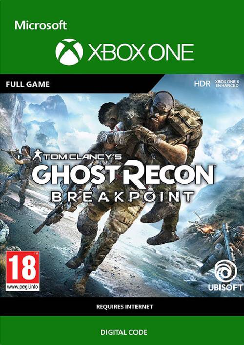 Tom Clancy's Ghost Recon Breakpoint Xbox One (UK) key