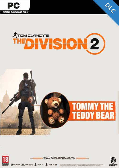 The Division 2 Tommy the Teddy Bear