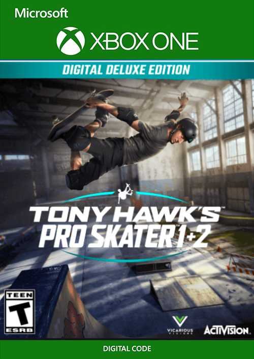 Tony Hawk's Pro Skater Remastered Deluxe Edition Xbox One