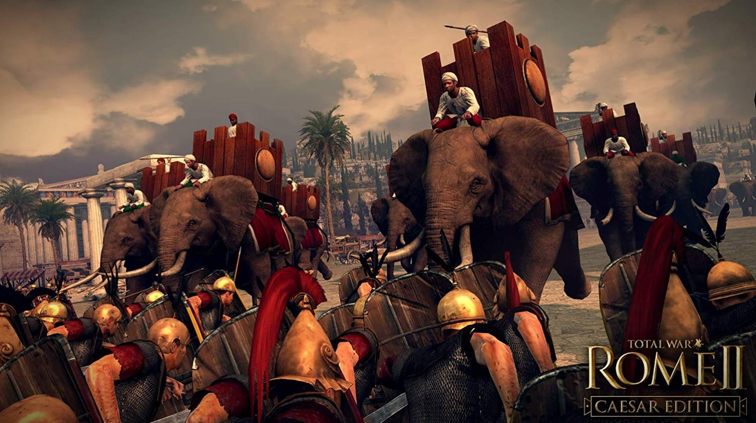 Total War Rome 2 - Caesar Edition PC cheap key to download