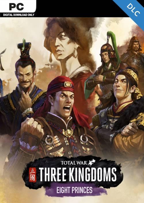 Total War: THREE KINGDOMS PC Eight Princes DLC (WW) key