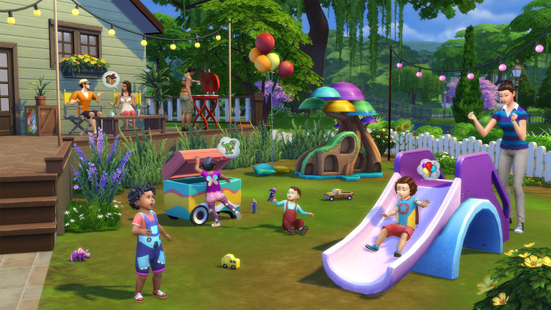 The Sims 4 -Toddler Stuff Xbox One cheap key to download
