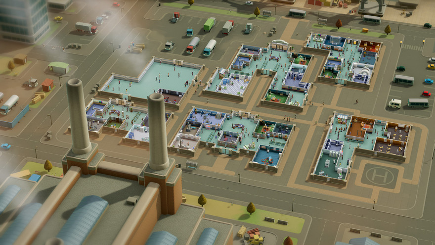 Two Point Hospital PC (EU) cheap key to download
