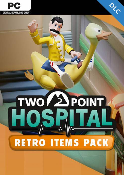 Two Point Hospital PC - Retro Items Pack DLC (EU) key