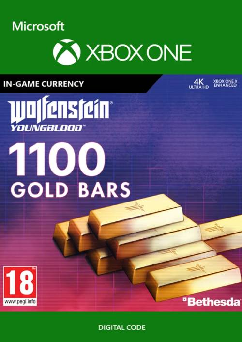 Wolfenstein: Youngblood - 1100 Gold Bars Xbox One key