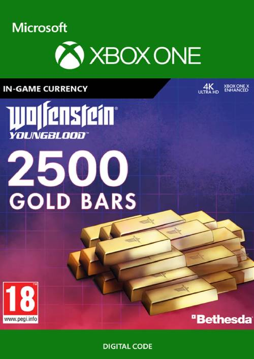Wolfenstein: Youngblood - 2500 Gold Bars Xbox One key