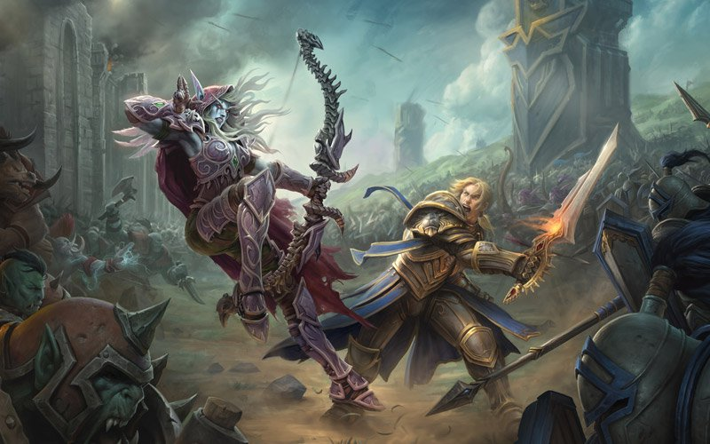 World of Warcraft (WoW) Battle for Azeroth Pre-Purchase PC (EU) billig Schlüssel zum Download