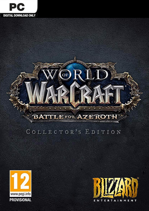 World of Warcraft WoW Battle for Azeroth Collectors Edition