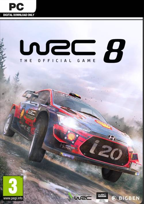WRC 8 FIA World Rally Championship: Collectors Edition PC key
