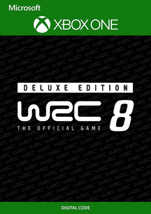 WRC 8 Deluxe Edition FIA World Rally Championship Xbox One