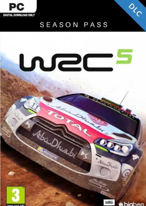 WRC 5  Season Pass PC key