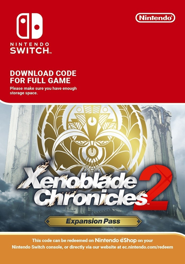 Xenoblade Chronicles 2: Expansion Pass Switch key