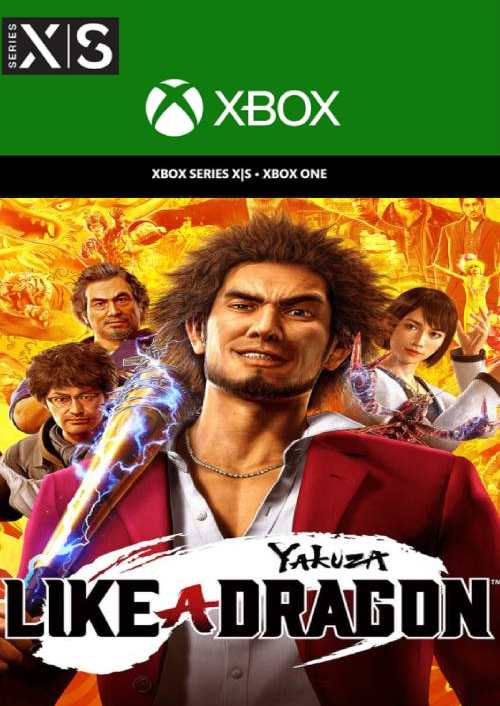 Yakuza Like a Dragon Xbox Series X