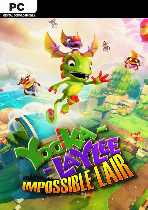 Yooka-Laylee and the Impossible Lair PC key