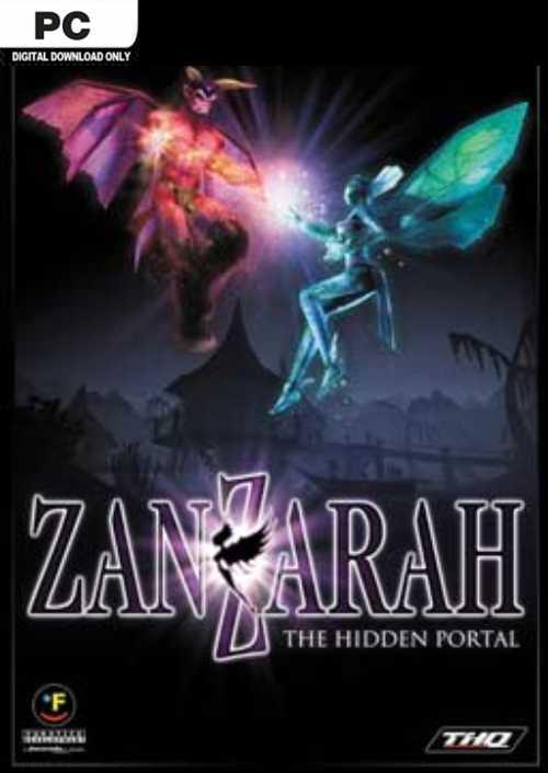 Zanzarah The Hidden Portal PC key